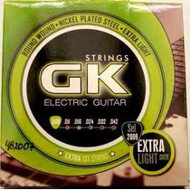 Set De Cuerdas Para Guitarra Eléctrica Gk 009-extra Light