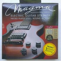 Set De Cuerdas Para Guitarra Eléctrica Magma 010-046 Light