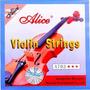 Set De Cuerdas Para Violin Alice A703