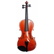 Violin Nombre 3/4 Con Arco,estuche Y Perrubia Nuevo Mv012r34