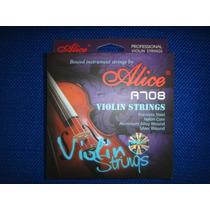 Vendo Cuerdas Para Violin Marca Alice A708
