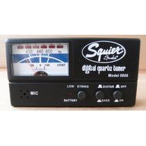 Afinador Digital Quartz Tuner Squier By Fender Modelo: 5006