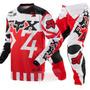 Traje Fox Anthem Rojo Motocross Enduro
