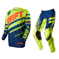 Traje Shift Assault Verde, Azul, Naranja Motocross Enduro