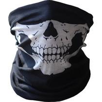 Mascara Para Motizados Moristas Microfibra Flexible Paintbal