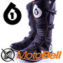 Botas Sixsixone Comp Motocross Enduro Mx Negra Negro