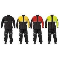 Impermeable Para Motorizado (chaqueta, Gorro Y Pantalón)