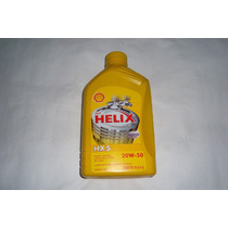 Aceite Shell Helix Hx5 20w-50 Y 15w-40 Mineral