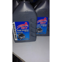 Aceite Semi-sintetico 20w50 Sky