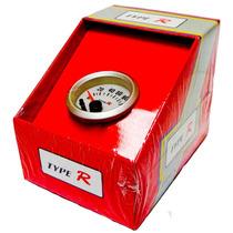 Reloj Voltimetro 2 , Fondo Blanco Type R 7 Colores Diferente