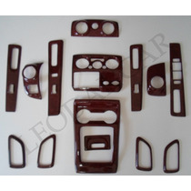 Kit Moldura Color Madera Para Tablero D-max 2011-2014