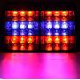Estrobos Policial De Led Para El Parabrisas Rojo Azul !!!