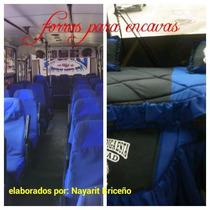 Forros Para Autobuses, Encavas, Taxis Todo Vehiculo