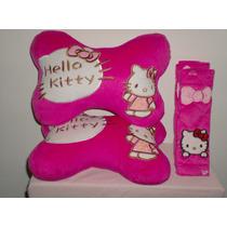 Apoya Cabezas Para Asiento De Carro Hello Kitty