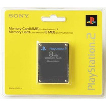 Memory Card 8 Mb Playstation 2 Sony Ps2 Memoria Play Consola