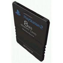 Memory Card Ps2 Original Color Negro 8mb . Sony