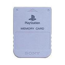 Memory Card Sony 1mb Para Psone Memoria Playstation 1 One