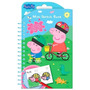 Peppa Pig Libro P/pintar Colores Sticker Import Orig