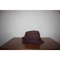 Sombrero De Tela Color Marrón Unisex
