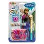 Set De Pulseras Frozen Rainbow Loom( Original Disney)