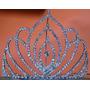Corona Reina Carnaval Piedreria Grande 10cm X 24cm