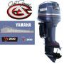 Calcomanias Tapa De Motor Yamaha Serie Saltwater Ii.