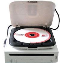 Unidad Externa Lector Dvd Consola Nintendo Wii Juegos