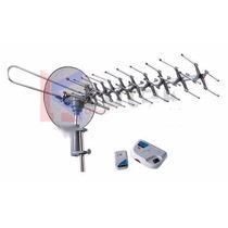 Antena Tv Rotativa Cu Amplificator Telecomanda Sna-893tg