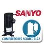 Compresor 10 Toneladas Trifasico Scroll R22 Nuevo