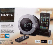 Radio Reloj Sony Icf-c7ip Con Dock Para Iphone/ipod