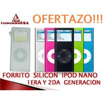 Estuche Ipod Nano 1era Y 2da Generacion Acrigel Goma Mp4
