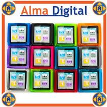 Forro Acrigel Ipod Nano 6g Estuche Protector Goma Manguera