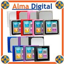 Forro Silicon Ipod Nano 6g Estuche Protector Goma Suave
