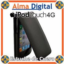 Estuche Cuero Ipod Touch 4g Funda Forro Protector 4 G