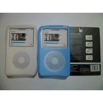 Combo De Forro Silicon Y Lamina Para Ipod Classic De 160 Gb