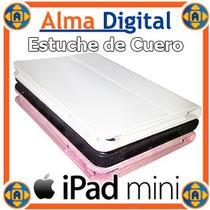 Estuche Cuero Ipad Mini Forro Protector Tablet Apple Funda