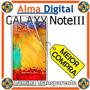 Lamina Protector Pantalla Samsung Galaxy Note3 N9000 Iii
