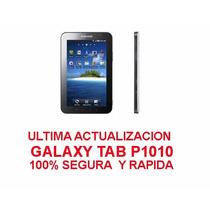 Actualizacion Galaxy Tab P1010 - 100% Segura - Envio Gratis