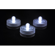 Velas Led Sumergibles. Ideal Para Centros De Mesa!