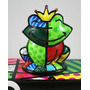 Romero Britto Sapo Miniatura (prince Charming Frog)