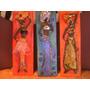 Espectacular Triptico De Africanas Para Embellecer Tu Hogar