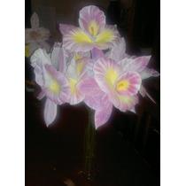 Flores Orquideas En Foami Termo Formado Medianas