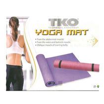 Colchoneta Yoga Mat Y Pilates Tko 3mm, Para Fittness