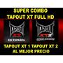Tapout Xt 1 Y Tapout Xt 2 Los 2 Full Hd + Regalo Especial