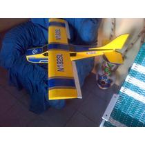 Avion Rc Cessna De Polistileno Expandido Sin Electronica.