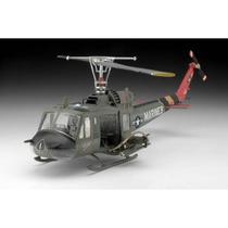 Helicopeto Para Armar Uh-1h Huey + 2 Pinturas Marca Testor