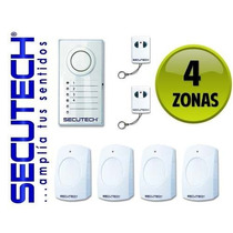 Sistema De Alarma Inalambrica Digital Secutech Seguridad