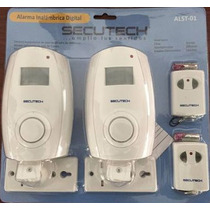 Alarma Secutech 2 Sensores Infrarojos Inhalambricos/2control
