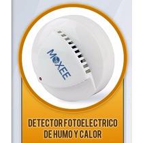 Detector Combinado De Humo Y Calor Marca Moxee