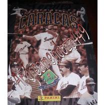 Panini Leones Del Caracas 1952-2002 Album Completo